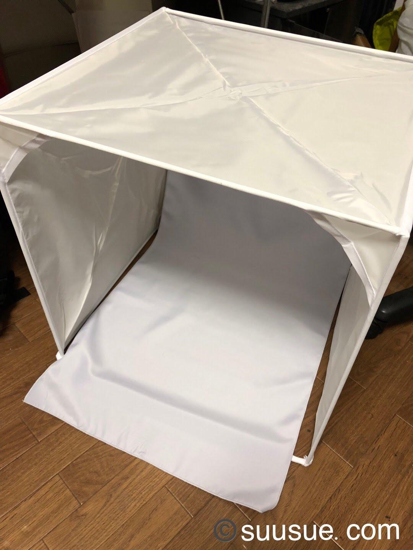 ハクバ デジカメスタジオボックス45 dsb-45 組み立てたところ