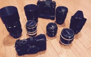 カメラとレンズたくさん