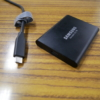 ポータブルSSD SAMSUNG T5(USB3.1 GEN2) 1TBを追加購入!