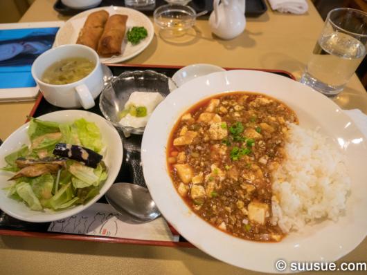 麻婆豆腐丼(ランチ)