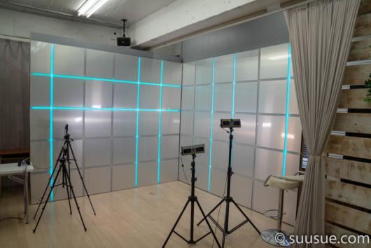 アクトローシティー渋谷スタジオの内部の模様