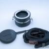 撮影時にEF-Mレンズを持ち歩くレンズホルダーGoWing Lens Flipper EF-Mマウント用が超