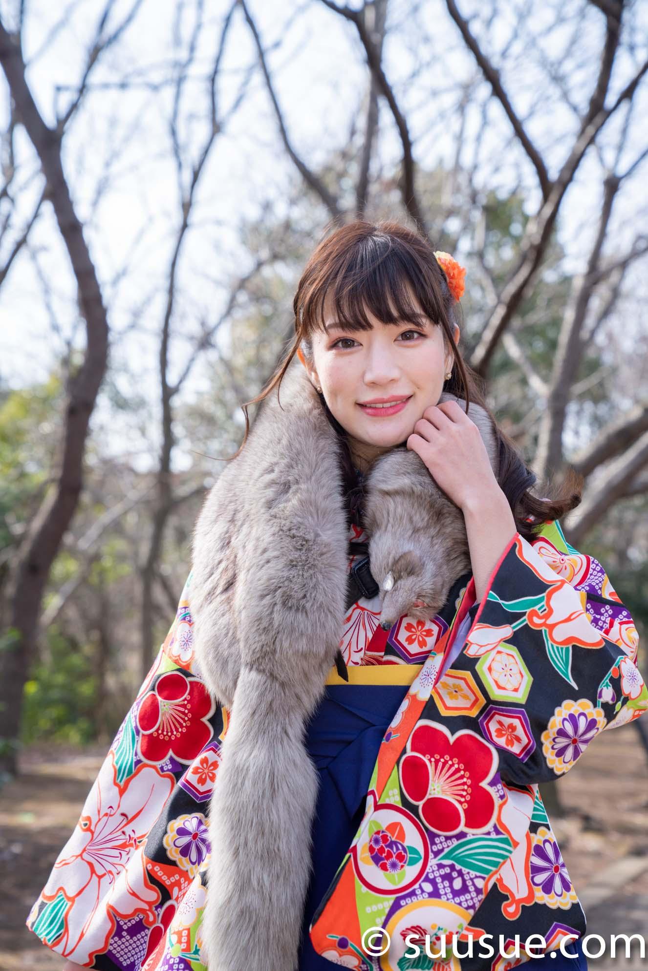 小嶋みやび 袴 2019/02/10 Newtype撮影会