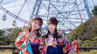 小嶋みやび・神尾美月 袴 2019/02/10 Newtype撮影会