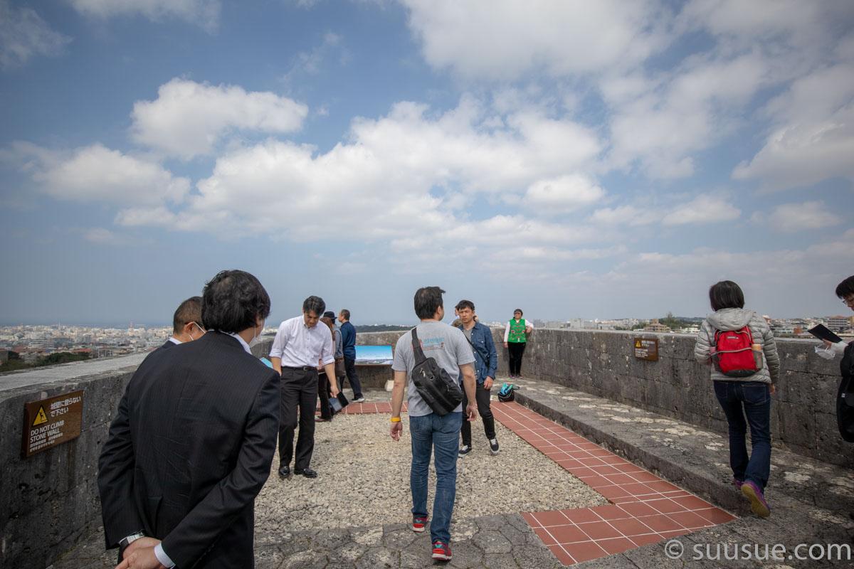 首里城 東のアザナ(見張台)