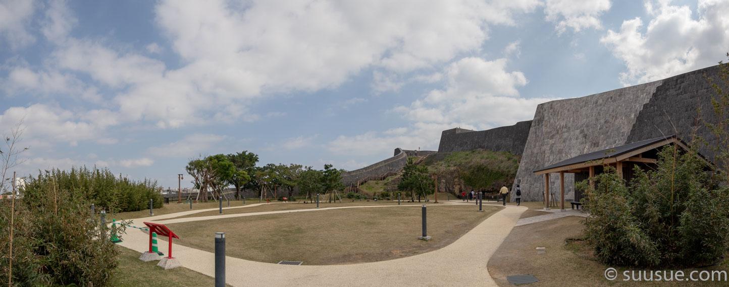 首里城 東側の奥の庭
