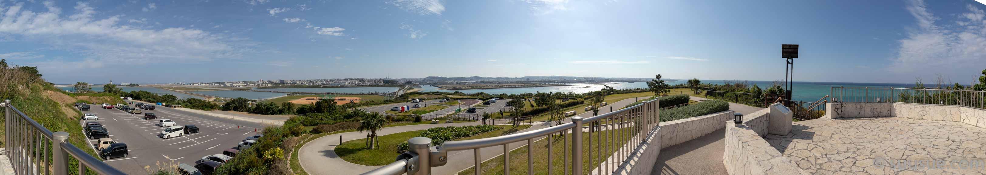 瀬長島展望台からの風景