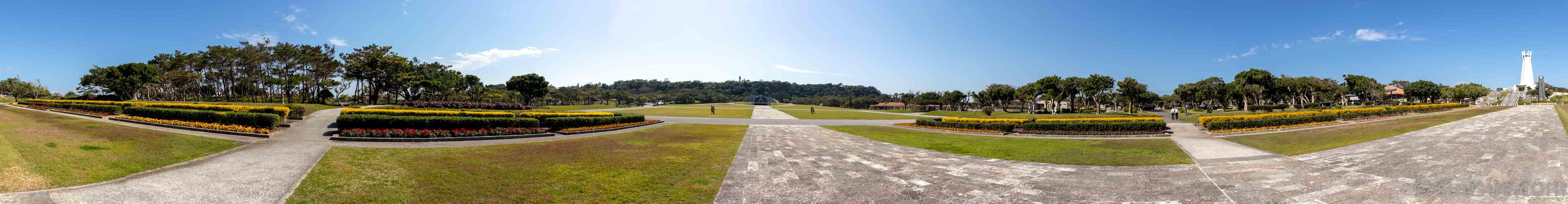 沖縄平和祈念公園式典広場