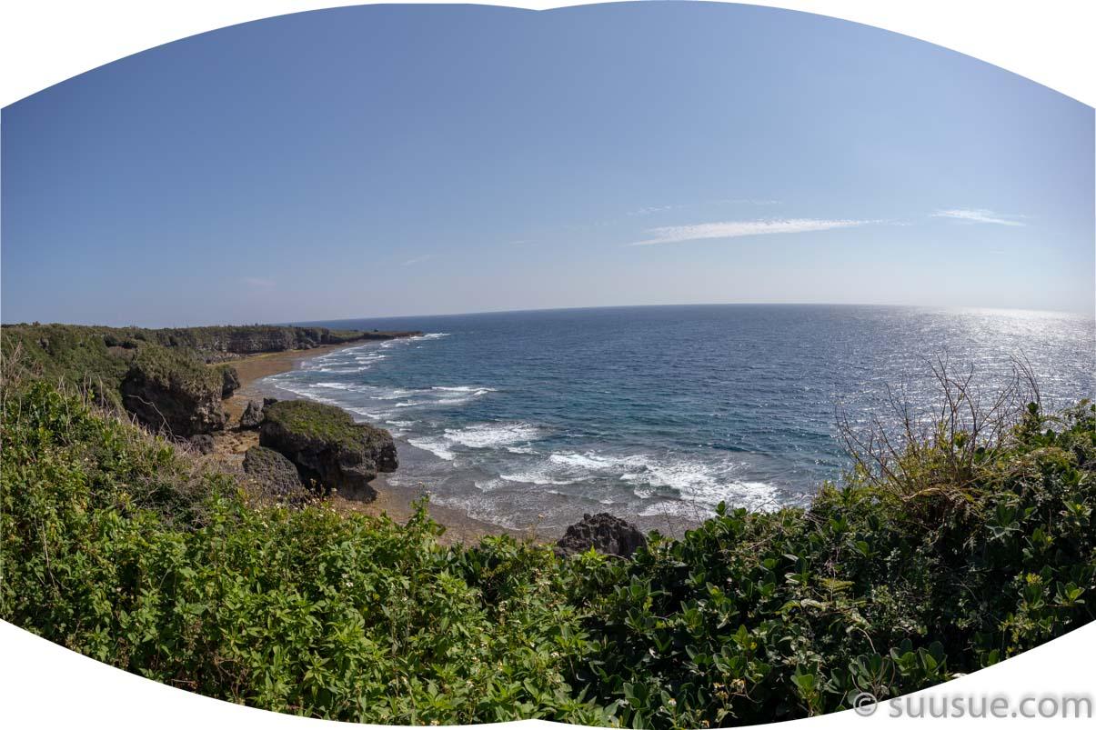 喜屋武岬からの風景