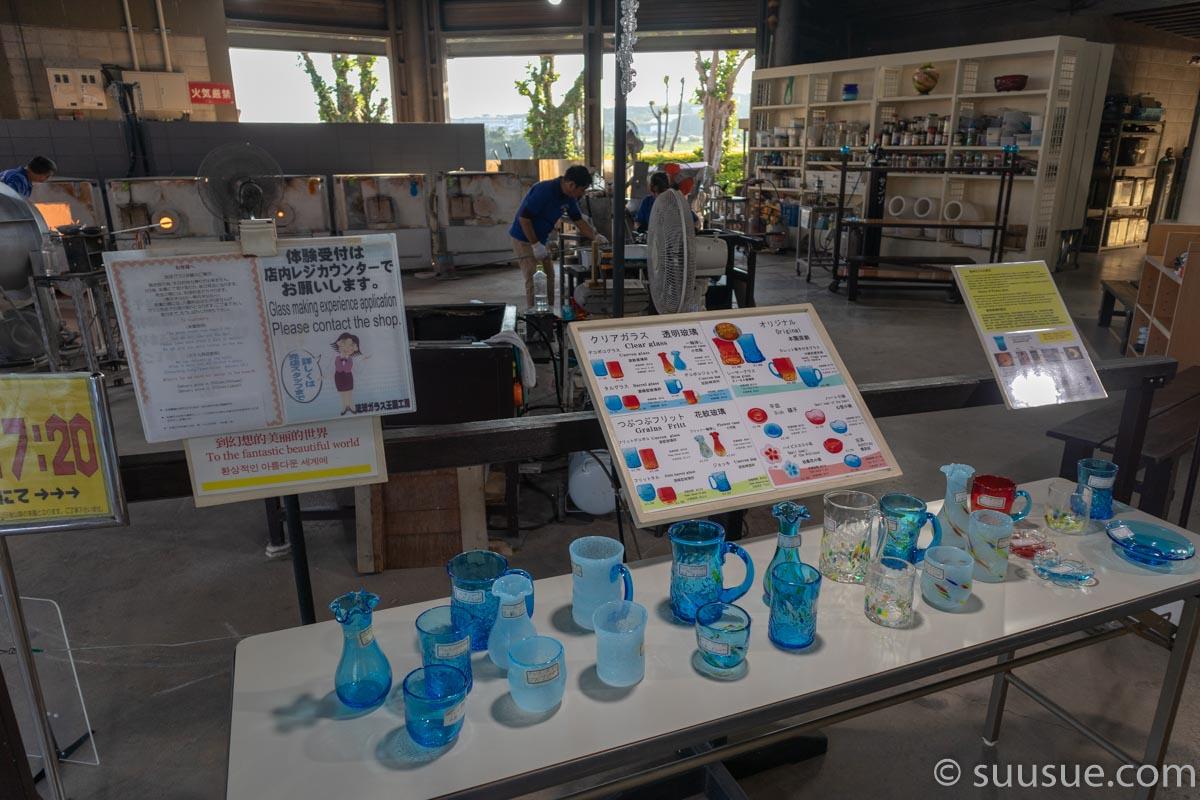 おきなわワールド 琉球ガラス王国工房