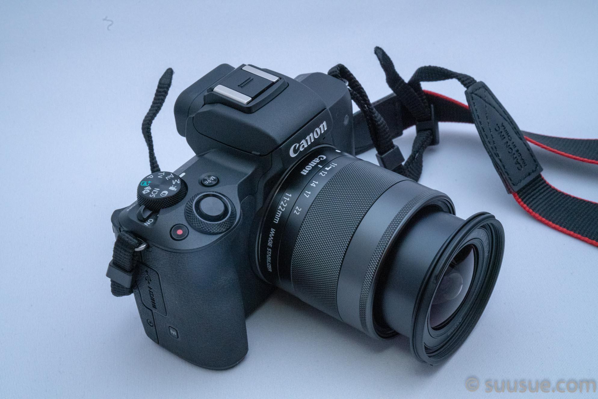 EOS kiss M+EF-M11-22mm F4-5.6 IS STM 使用中