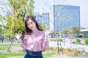 小嶋みやび 2019/04/20 NewType撮影会 プロムナード公園
