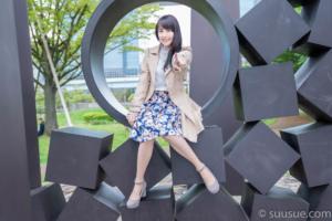 瀬谷ひかる 2019/04/27 NewType撮影会 シンボルプロムナード公園