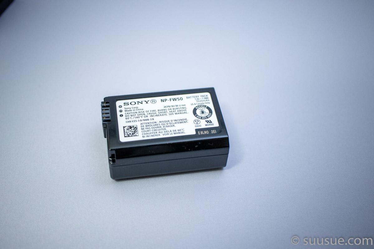 バッテリーパック NP-FW50