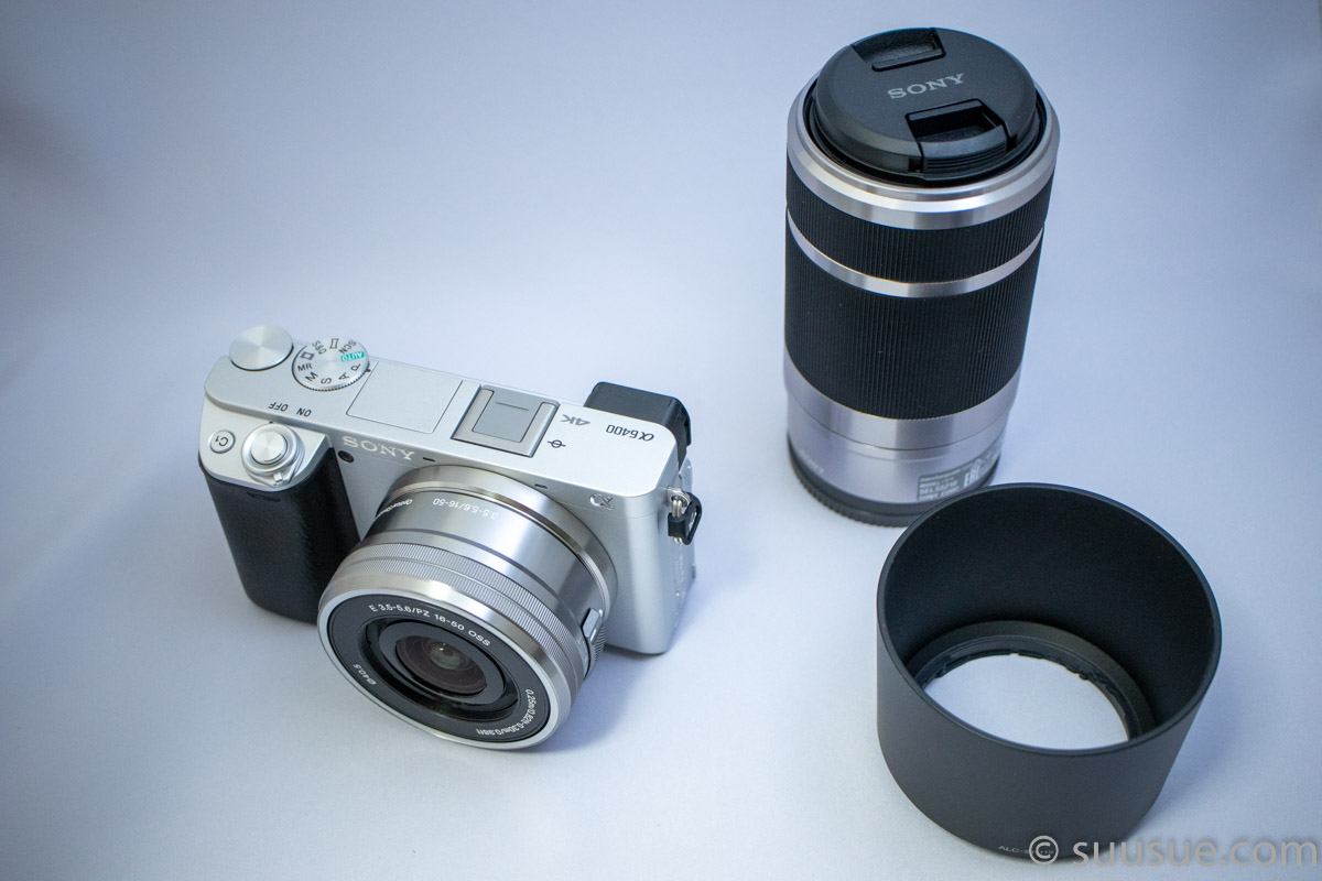 α6400と望遠ズームレンズ E 55-210mm F4.5-6.3 OSS (SEL55210)