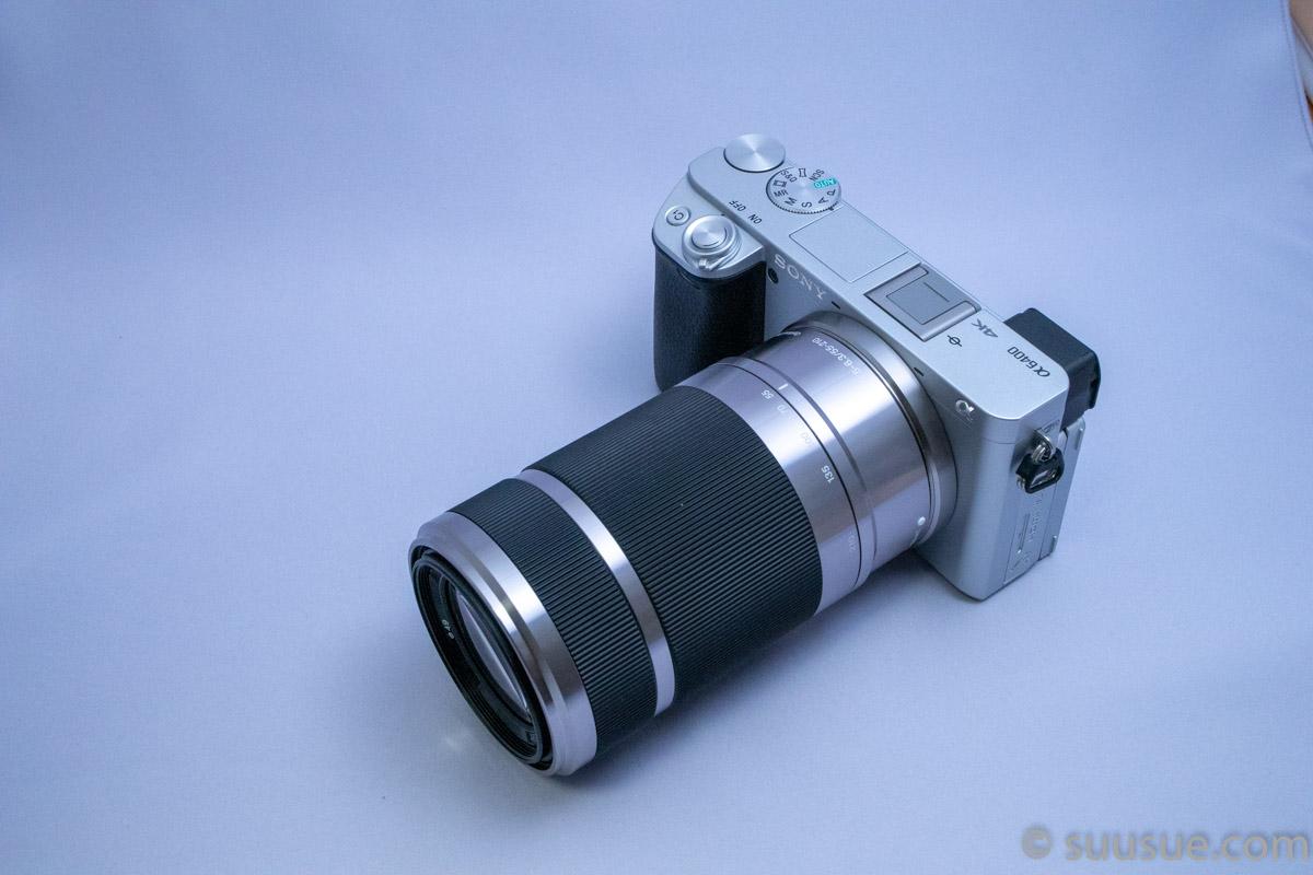 α6400+E 55-210mm F4.5-6.3 OSS (SEL55210) 広角端