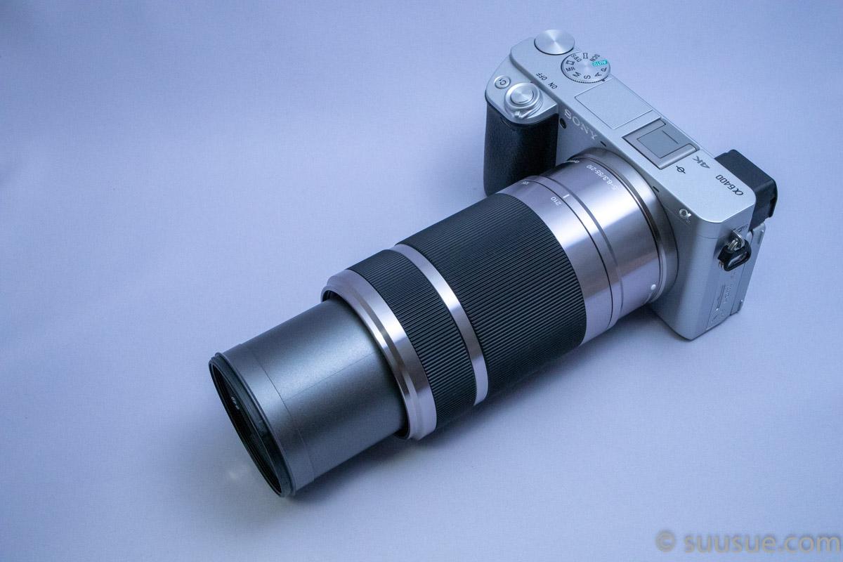 α6400+E 55-210mm F4.5-6.3 OSS (SEL55210) 望遠端