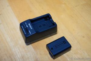 充電器とバッテリー