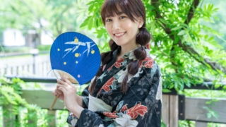 瀬谷ひかる 浴衣 2019/08/24 NewType撮影会 青海南ふ頭公園
