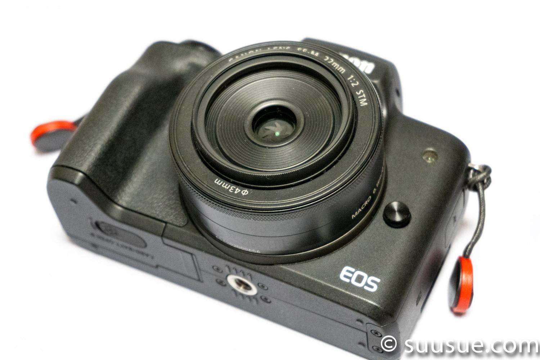 EF-M22mm F2 STMとMC Protector NEO 43mm