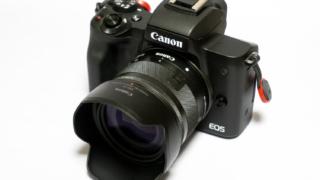 EF-M15-45mm F3.5-6.3 IS STMとCanon純正レンズフードEW-53