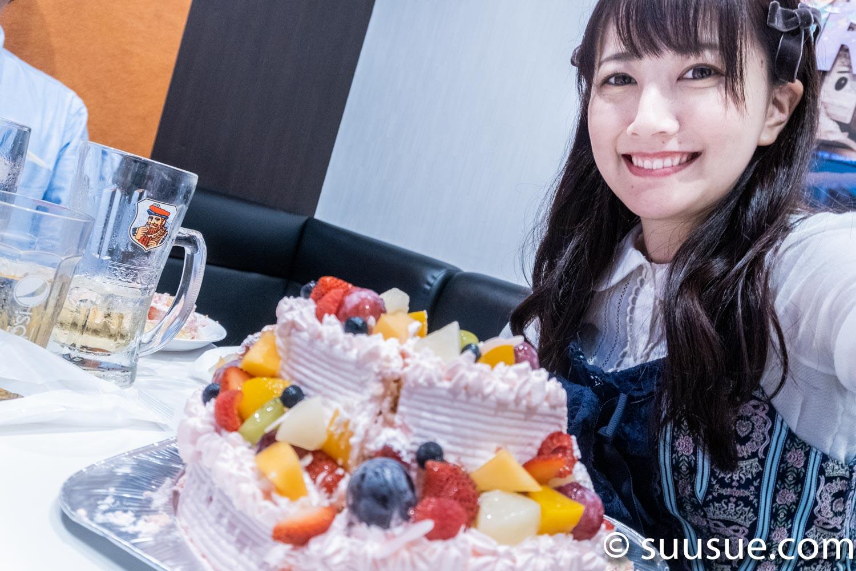 瀬谷ひかる バースデーオフ会 2019/10/20 NewType撮影会