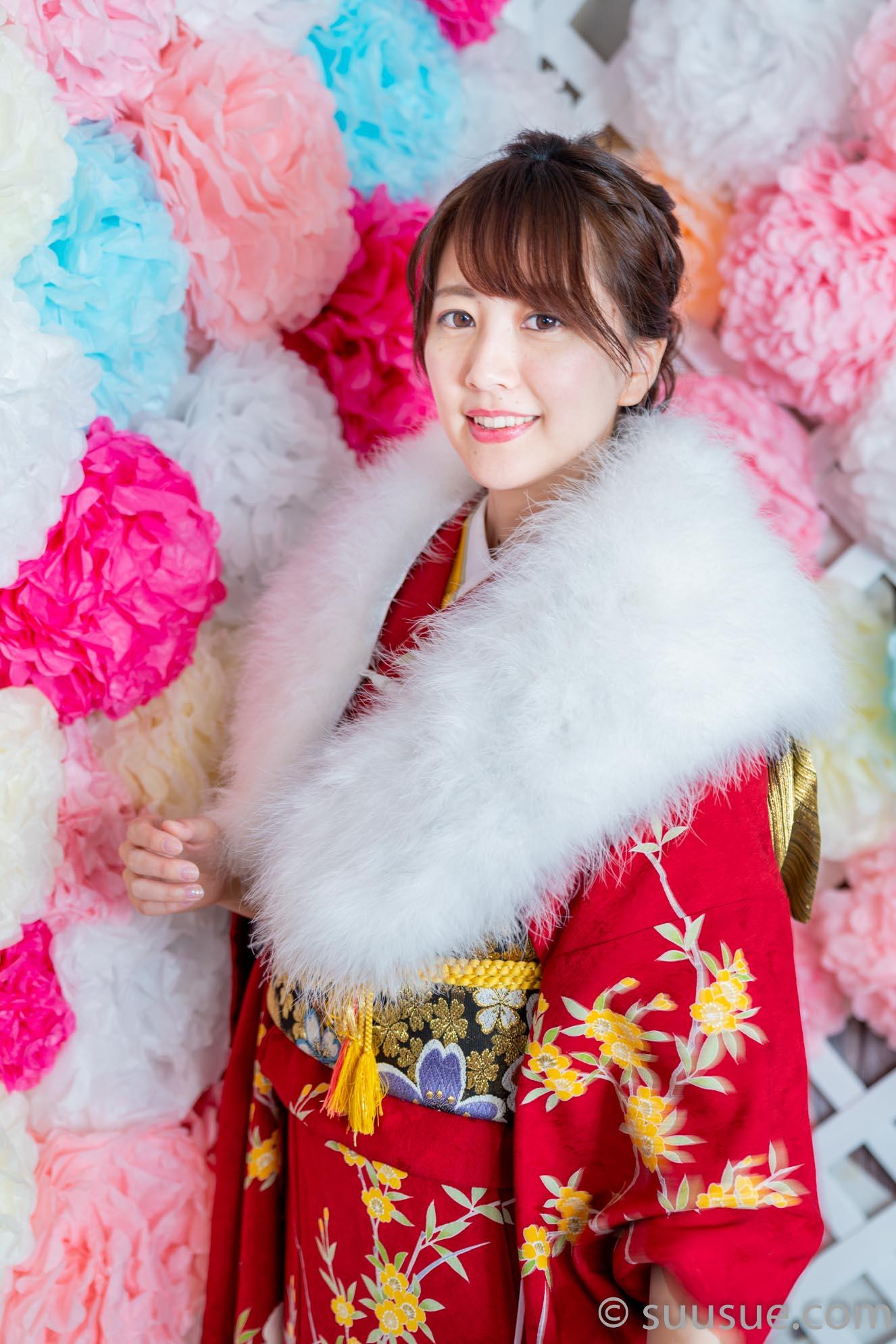 瀬谷ひかる 2020/01/19 NewType撮影会 振り袖